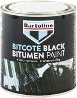 BARTOLINE BITCOTE BITUMEN MULTI-SURFACE WATERPROOFING PAINT BLACK 1L